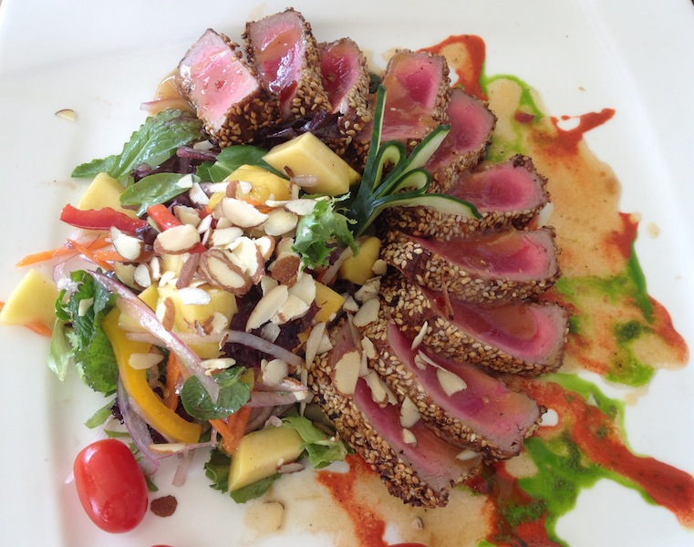 Fresh Ahi Tuna Salad