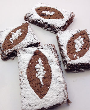 super bowl Brownie