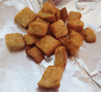 How to make Croutons