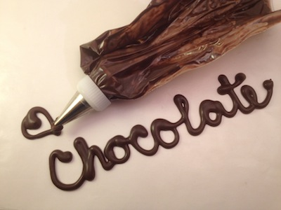Writing Chocolate