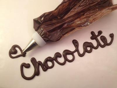 Writing Chocolate