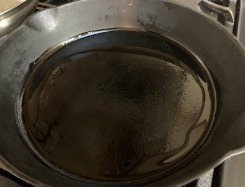 When to Put Oil in Pan