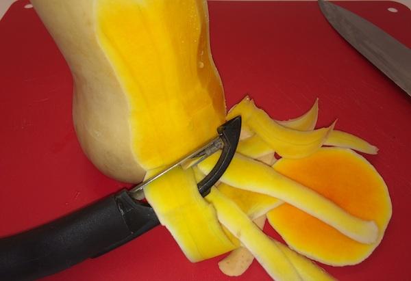 Peel Butternut Squash