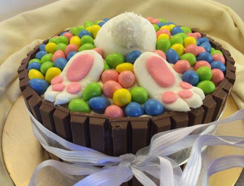 Diving Bunny Pool Cake