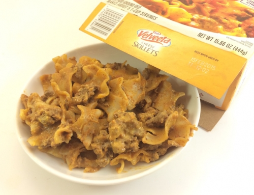 "Monday's Dinner – ""Expired"" Velveeta Cheesy Skillet"