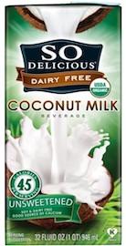 coconut water vs coconut milk