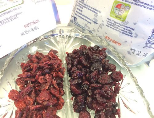 "Monday's Snack – ""Expired"" Craisins"