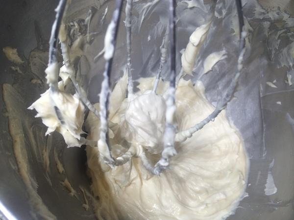 creamed butter