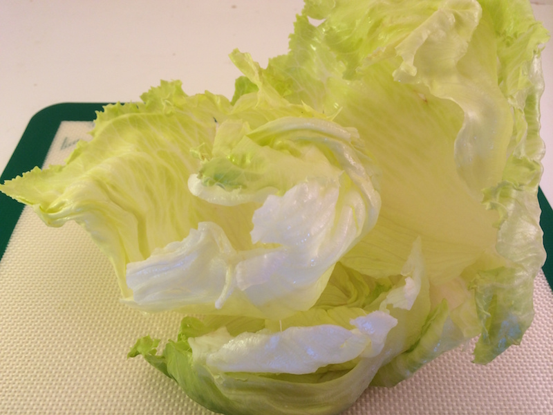 Crispy lettuce