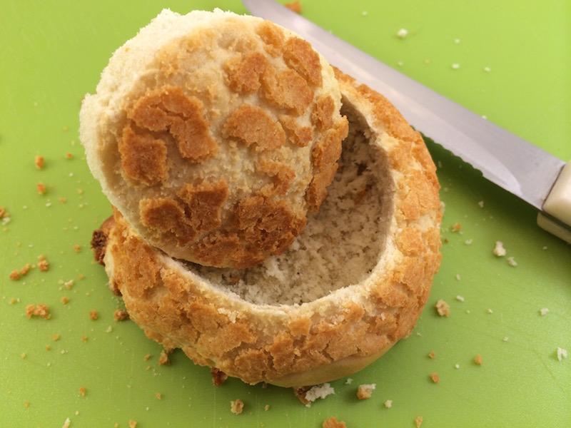 egg bread bowl