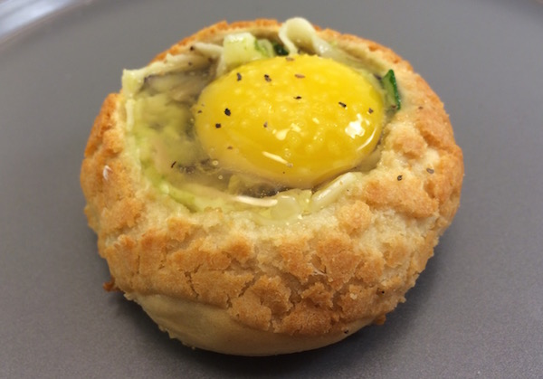 egg bread bowl