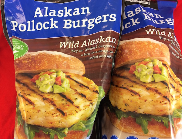 pollock burgers