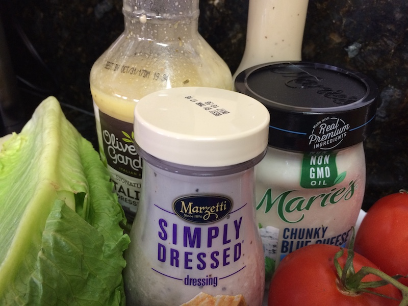 freeze salad dressing