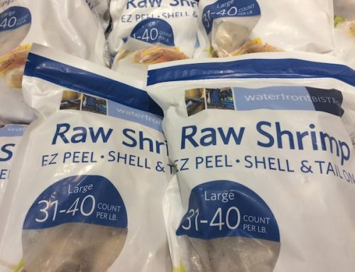 Shopping Tip: The Freshest Shrimp are Frozen!