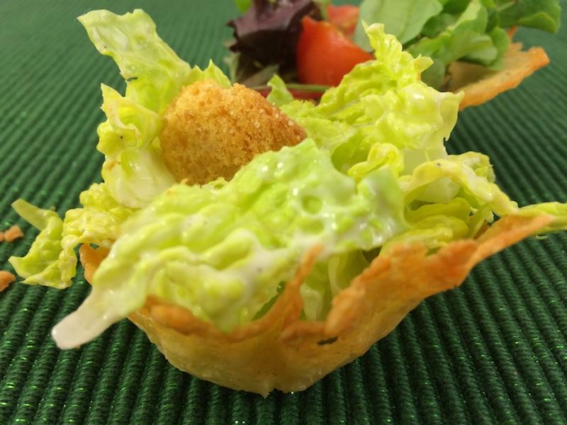 Frico edible bowl