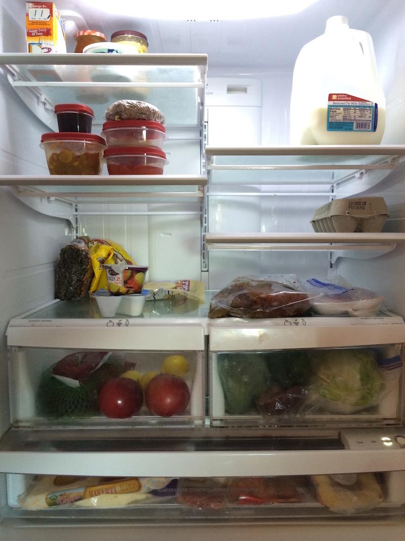 arrange a refrigerator