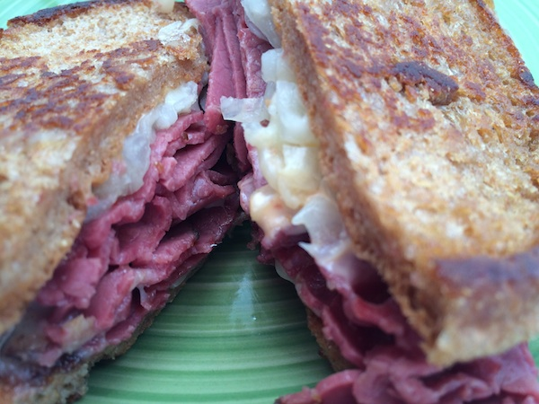 Reuben Grilled Cheese