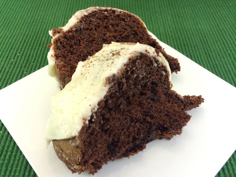 mocha bundt cake