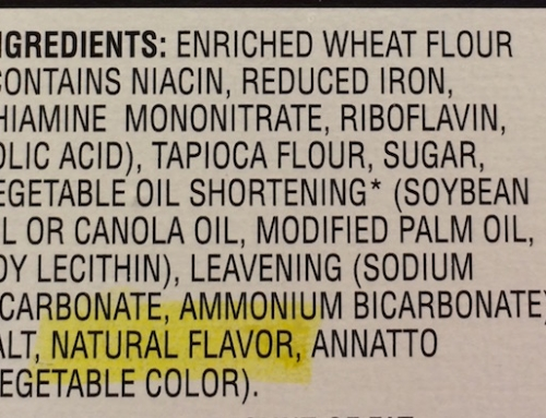 What Are Natural Flavors?