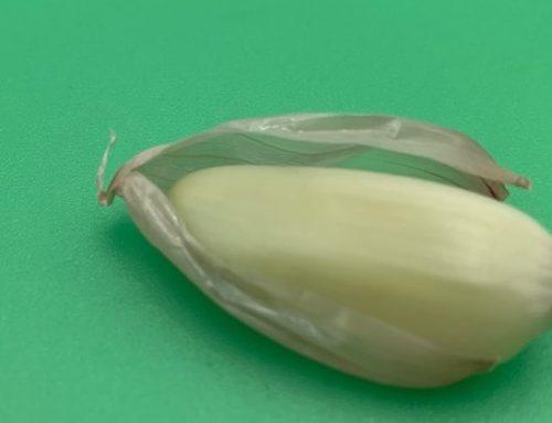 Easy Way to Peel Garlic