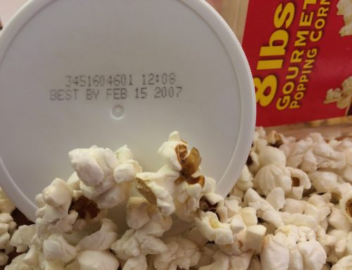 "Monday's Snack – ""Expired"" Popcorn"