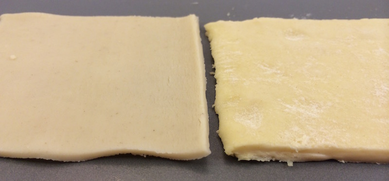 puff pastry vs pie crust