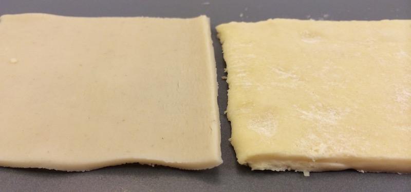 puff pastry vs pie crust