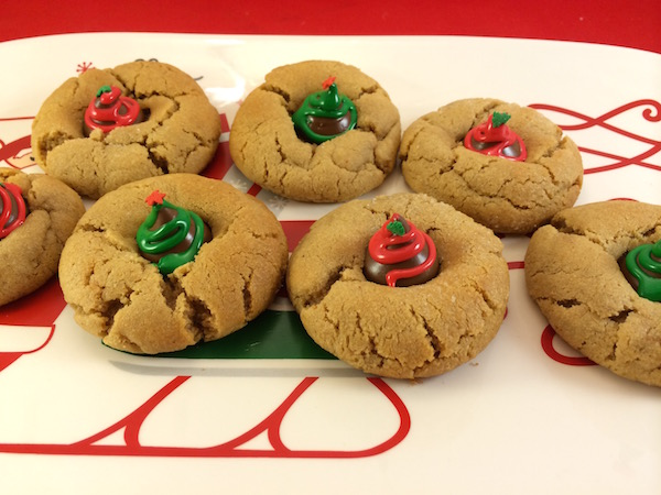 christmas peanut butter cookies