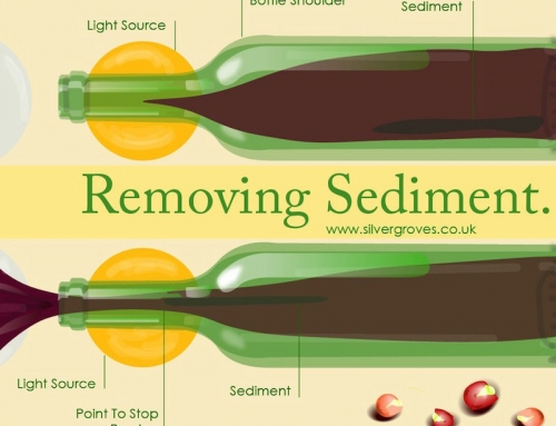 Removing Wine Sediment
