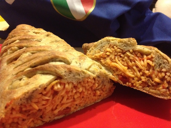 Stuffed Spaghetti Bread