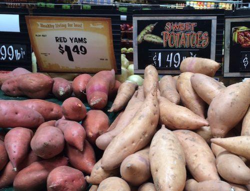 Sweet Potato vs Yam
