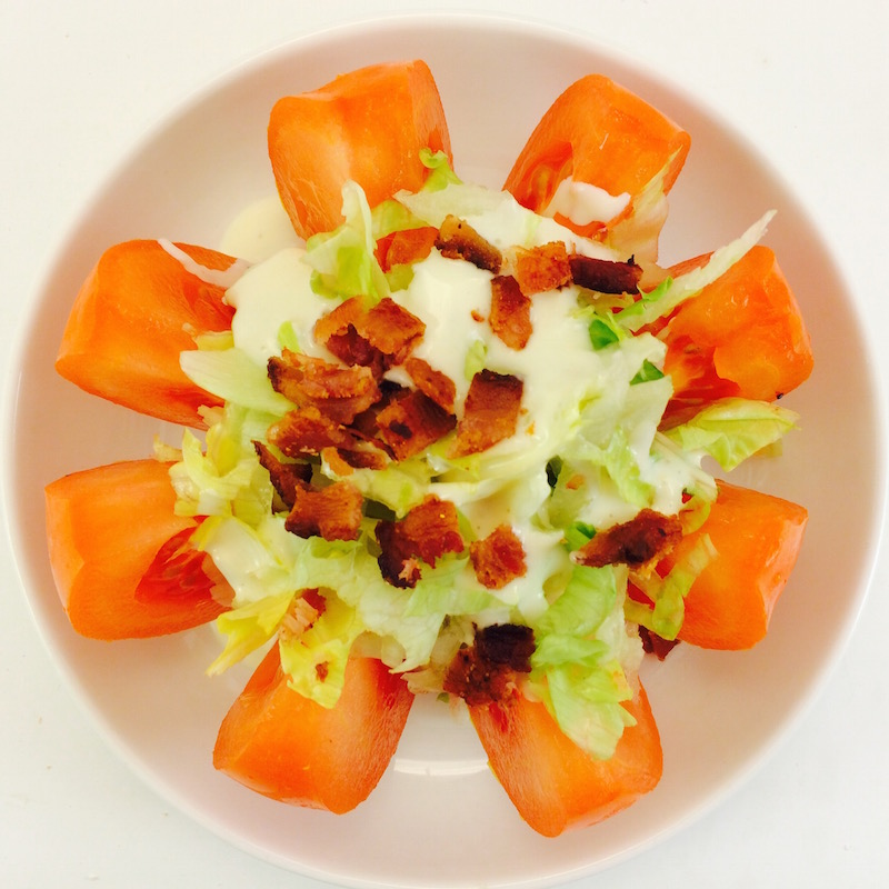 tomato wedge salad