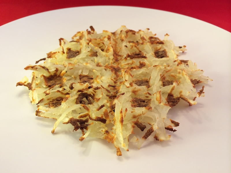 Waffle hash browns