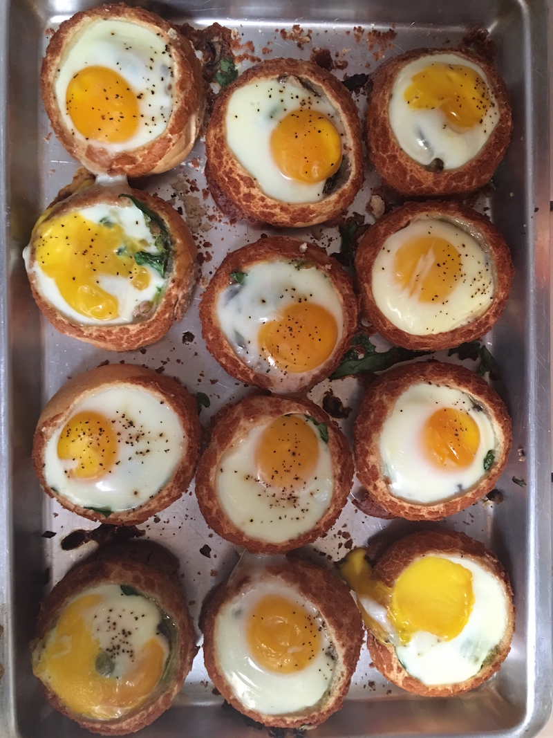 Egg Bread Bowl You Can Find Other Breakfast Ideas