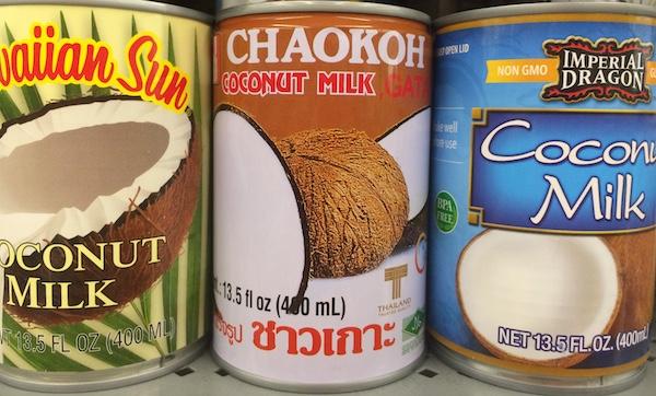 Coconut Water vs Coconut Milk vs Coconut Cream