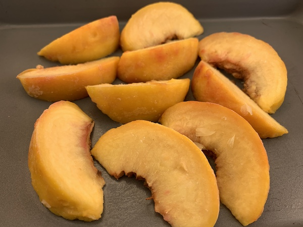 Saving Summer Peaches