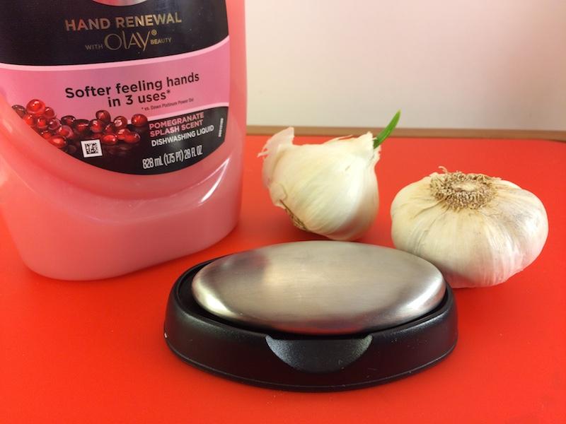 Get Garlic Smell Off Hands