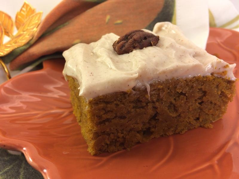 Moist Pumpkin Cake