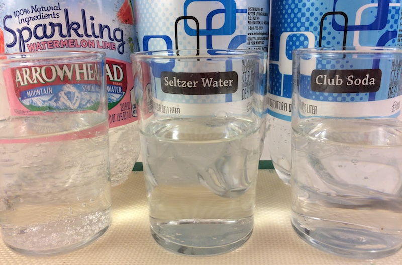 Club Soda vs Seltzer vs Sparkling Water